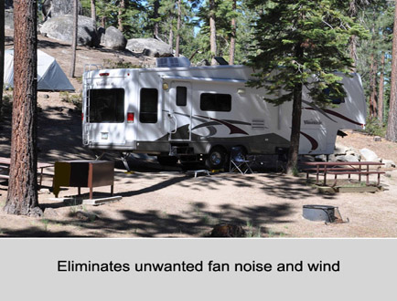 Aftermarket Auto-fan Kits for Coleman RV Air Conditioners